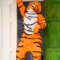 Thomas O'Connell as the Tiger, The Tiger Who Came To Tea